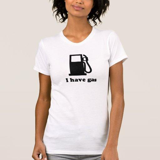Tengo gas camisetas