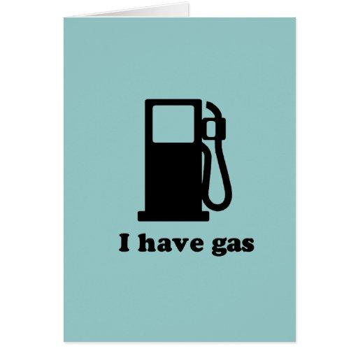 Tengo gas tarjetas