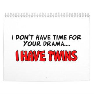 Tengo gemelos calendario