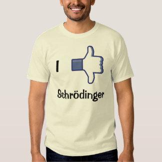 Tengo gusto/aversión Schrodinger Playeras