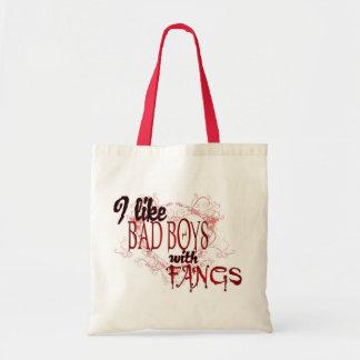 Tengo gusto de Badboys con los colmillos Bolsa