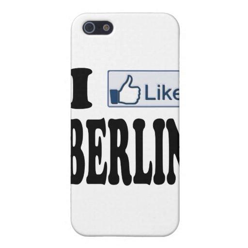 Tengo gusto de Berlín Alemania iPhone 5 Funda