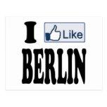 Tengo gusto de Berlín Alemania Postales