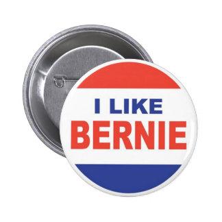 Tengo gusto de Bernie Pin Redondo De 2 Pulgadas
