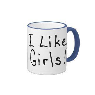 Tengo gusto de chicas taza