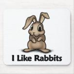 Tengo gusto de conejos alfombrilla de ratones