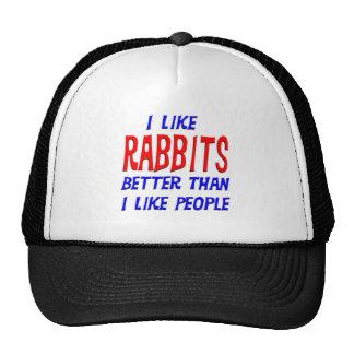 Tengo gusto de conejos mejores que tengo gusto del gorro de camionero