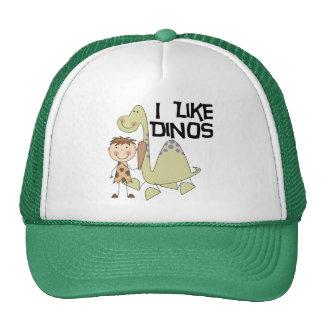 Tengo gusto de Dinos - las camisetas y los regalos Gorras De Camionero