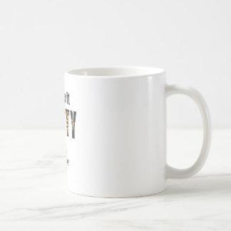 Tengo gusto de él DE NUEZ Taza De Café