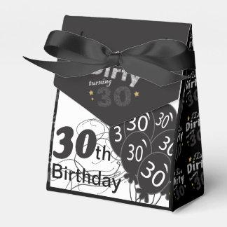 Tengo gusto de él trigésimo cumpleaños de torneado cajas para regalos de boda