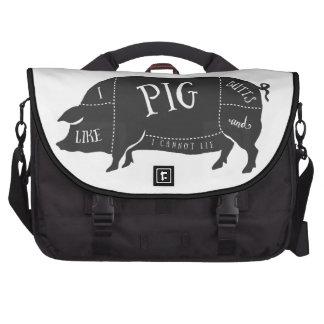 Tengo gusto de extremos del cerdo y no puedo bolsas de portátil