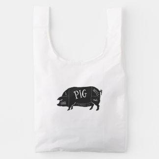 Tengo gusto de extremos del cerdo y no puedo bolsa reutilizable