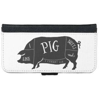 Tengo gusto de extremos del cerdo y no puedo carcasa de iPhone 6