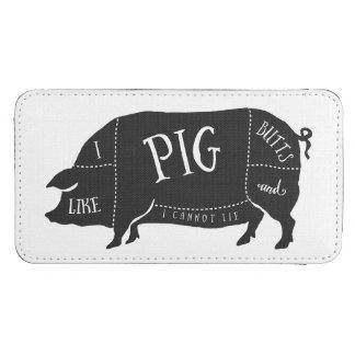 Tengo gusto de extremos del cerdo y no puedo bolsillo para móvil