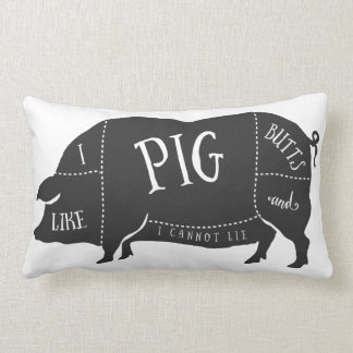 Tengo gusto de extremos del cerdo y no puedo almohadas