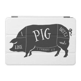 Tengo gusto de extremos del cerdo y no puedo cubierta de iPad mini