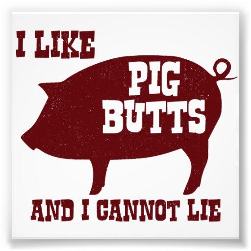 Tengo gusto de extremos del cerdo y no puedo fotografías