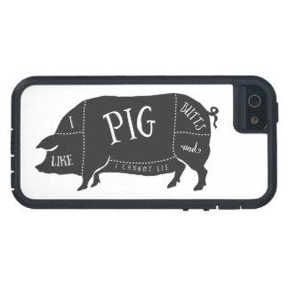 Tengo gusto de extremos del cerdo y no puedo iPhone 5 fundas