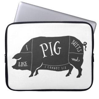 Tengo gusto de extremos del cerdo y no puedo funda computadora
