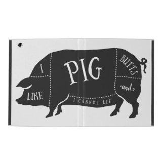 Tengo gusto de extremos del cerdo y no puedo iPad carcasa