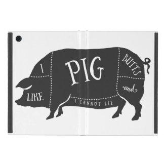 Tengo gusto de extremos del cerdo y no puedo iPad mini fundas
