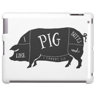 Tengo gusto de extremos del cerdo y no puedo funda para iPad