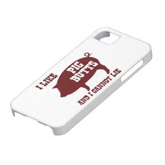Tengo gusto de extremos del cerdo y no puedo menti iPhone 5 Case-Mate coberturas
