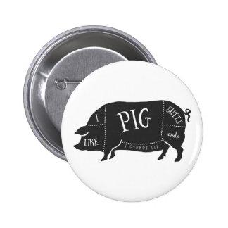 Tengo gusto de extremos del cerdo y no puedo pin