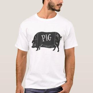 Tengo gusto de extremos del cerdo y no puedo playera