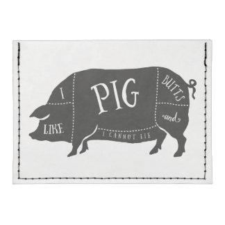 Tengo gusto de extremos del cerdo y no puedo tarjeteros tyvek®