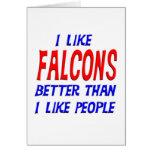 Tengo gusto de Falcons mejores que tengo gusto de  Tarjetón