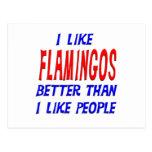 Tengo gusto de flamencos mejores que tengo gusto d tarjetas postales