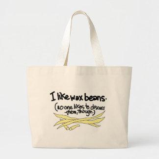 Tengo gusto de habas de cera bolsas