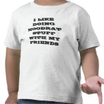 Tengo gusto de hacer la materia del hoodrat con mi camiseta