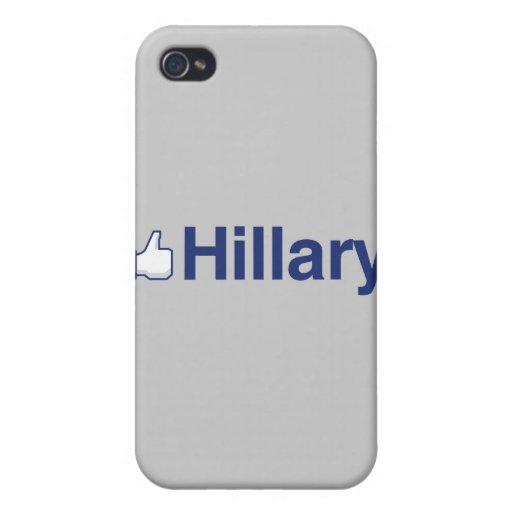 TENGO GUSTO de HILLARY-.png iPhone 4/4S Fundas