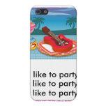 Tengo gusto de ir de fiesta iPhone 5 cárcasa