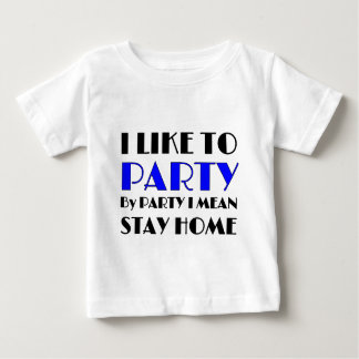 Tengo gusto de ir de fiesta playera de bebé