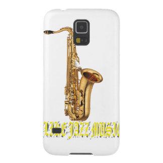 Tengo gusto de jazz de la música carcasa de galaxy s5
