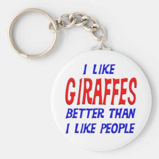 Tengo gusto de jirafas mejores que tengo gusto de llavero redondo tipo pin