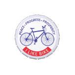 Tengo gusto de la bici (la edición de MTB) Jarrones De Caramelos
