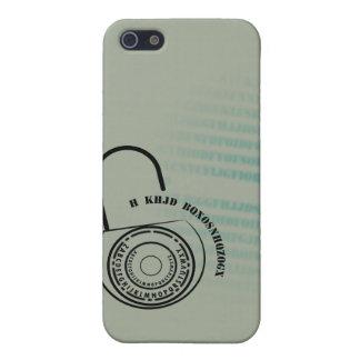 Tengo gusto de la caja de la criptografía IPHONE iPhone 5 Carcasa