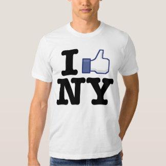 Tengo gusto de la camisa de NY