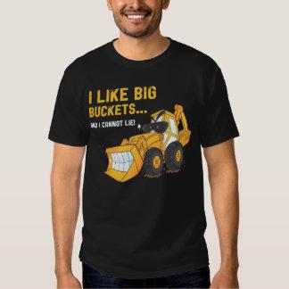 Tengo gusto de la camiseta grande de la polera