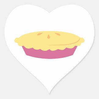 """¡""""Tengo gusto de la empanada! """" Pegatina En Forma De Corazón"""