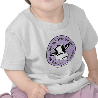 Tengo gusto de la leche de mi momia no apenas cual camisetas