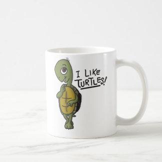 Tengo gusto de la taza de las tortugas