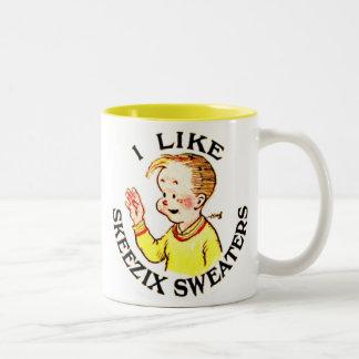 Tengo gusto de la taza de los suéteres de Skeezix