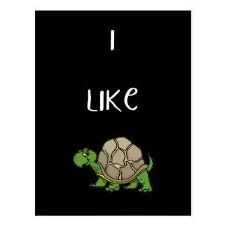 Tengo gusto de la tortuga postal