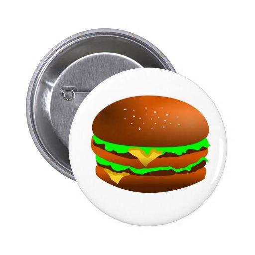Tengo gusto de las hamburguesas pin