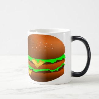 Tengo gusto de las hamburguesas, taza mágica